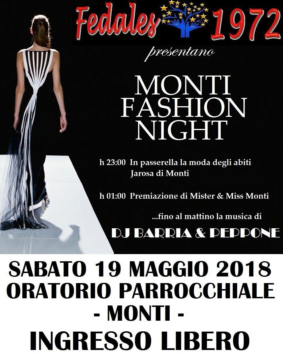 Monti fashion night