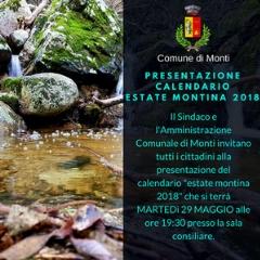 Presentazione calendario Estate Montina 2018