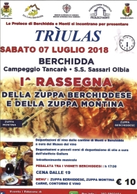I^ Rassegna della Zuppa Berchiddese e della Zuppa Montina